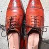 今日は靴磨き日和ですね!!