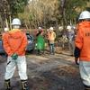 今年初のSSSN(佐波の里山サポートネット)の月例活動に参加