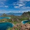 コモド国立公園一の絶景 パダール島