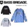 【バスブリゲード】左右の袖にそれぞれ異なるロゴを配置した「STANDOUT L/S TEE」発売!