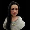 7500年前の女性の顔