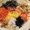 魚がしそば「寿司屋が創ったまぜそば」を食す@新橋