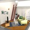 季節が変わるから、大型家具はそのままに、部屋の模様替え出来るかな?