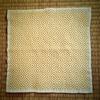 刺し子刺繍『柿の花』