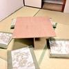 大きな机を作りました