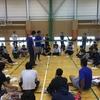 びわこ成蹊スポーツ大学で開脚システム