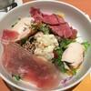 PREMIUM パワーサラダ 949円(税込1,043円) このひと皿で約300g ドレッシングは、シーザーサラダ、ごまを選択した。 (@ デニーズ - @dennys_pr in 文京区, 東京都)