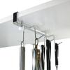 フックの形や間隔が使いやすいと評判 キッチンツールフック 18-8ステンレス製 穴あけ不要 日本製