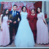 ウルムチ留学時代のキルギスタン人の親友の結婚式 in イシククル湖