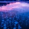 ガスが凍湖に閉じ込められた幻想的な「アイスバブル」、数十年振りに長期間見られたそうです