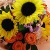 お花をあげたときの笑顔は尊い