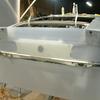 1971 マスタングマッハ1 左クォーターパネル8 取り外し準備1