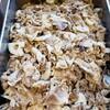 豚肉と蓮根、しいたけの粒マスタードソース