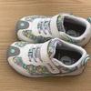 新学期が始まる前に子どもたちの靴を新調しました。