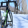 雪解けしてきたので週末サイクリングに前田森林公園まで行ってきた