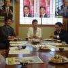 もうり県議、小澤市議を招いてのお茶飲み懇談会