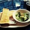 【世田谷文学館】喫茶どんぐりでトーストセット