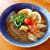 韓国冷麺、そして週末の記録。『黄色い鳥器店』&『カゴアミドリ』