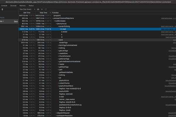 Node.js の CPU プロファイリングでボトルネックを特定する