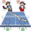 意外とあやふや? 卓球のダブルスのルールを徹底解説