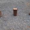 木ろうそく 引き出しにしまっておこう Candle of cross cutting firewood