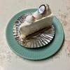🚩外食日記(676)    宮崎   「ケーキハウス309」⑥より、【コーヒーゼリー】【レアチーズ】‼️