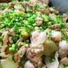 豚肉と冬瓜の青唐辛子煮込み