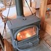 暖炉、やきいも、栗あん。。