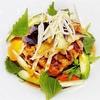 えごまと茄子の香味野菜ハンバーグ(外食)