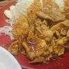 肉盛りチキンカツ定食