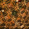傘松閣の天井画