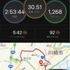 30kmロング走と憧れ