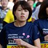 最後の走者まで:2km過ぎ@おかやまマラソン2016(13日)