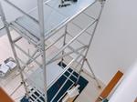 横浜市保土ケ谷区 1階~2階の吹き抜けに新規配線をしてからシーリングファンの取付工事