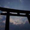 奈良県   三輪山にて。大鳥居と一の鳥居のこと。