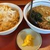 【山田うどん食堂】俺達のかき揚げ丼セット