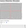OpenCVのカメラ歪みシミュレータを作ってみた