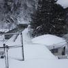 厳冬の南面白山