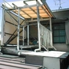 波板屋根重ね張り(古い波トタンを剥がせない事情の事例)