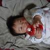 4か月児乳児のお気に入りグッズベスト3♪