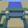 【MinecraftPC版】Part244 海底神殿の拠点と海底神殿を結ぶ階段作り(その2)