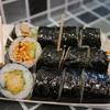 韓国グルメ旅行記2~空港鉄道、弘大駅でキンパ韓国のり巻の朝食