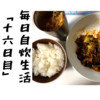 男子学生が作る毎日自炊生活「十六日目」~初めてつくる回鍋肉~