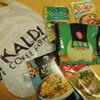 カルディさんのタイフェア/ラートナー/スキー・ナーム/翡翠麺/オレンジチキン/ポキ/ビリヤニ