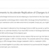 Office365 Exchange OnlineとAzure ADの同期が改善されるようです