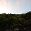 202019 7/30 富士山下山④プリンスルート-新6合目(標高2493m)宝永山荘富士宮前へ