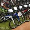 軽量ジュニア用自転車!