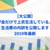 【大公開】奨学金だけで上京生活している人の生活費の内訳を公開します【一人暮らし】