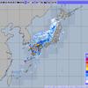 前線の通過に伴い大雨・春雷に!!宮崎市では洪水警報が発表!!