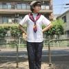 今日の服|猛暑日にきちんとした服装で出かけるときのコーディネート